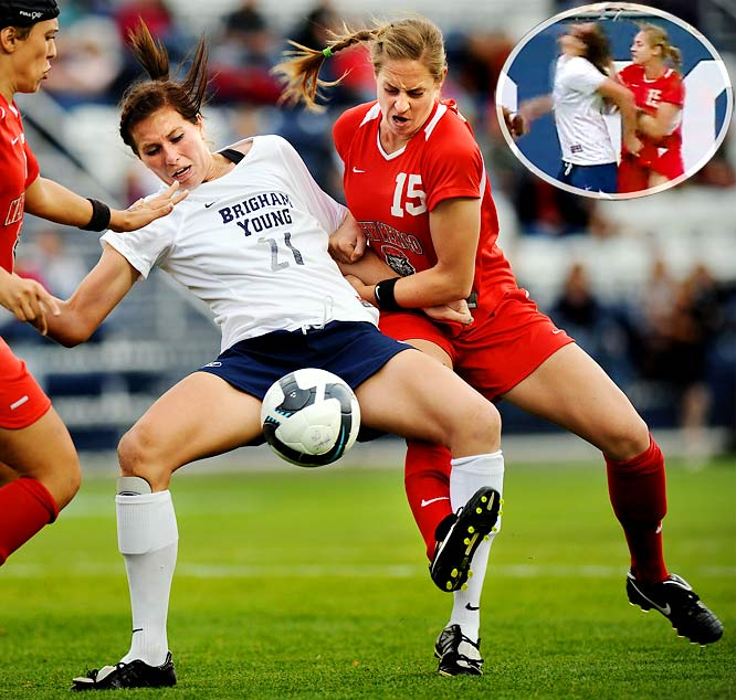 Female Student-Athletes and Sporting Violence | Fitness Information Technology Blog